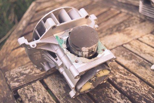 Engine, Motor, Heat Seized, Seized, Crap, Engineering