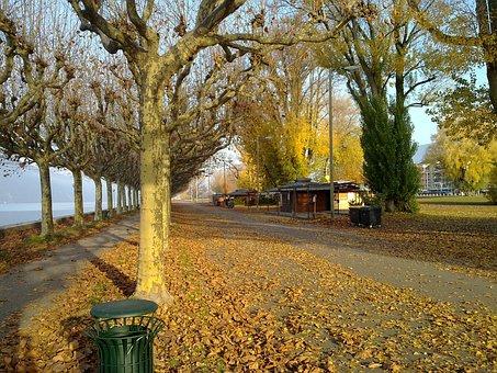 Promenade, Les Bains, Esplanade, Savoie, Nature, Path