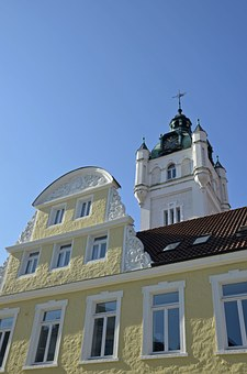 Town Hall, Tower, Building, Verden, All