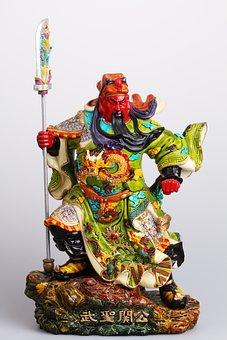 Guan Yu, Guan Gong, Ceramics