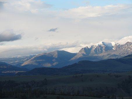 Mountains, Snow, Winter, Snowcap, Landscape, Wilderness