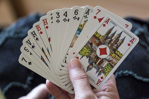 Playing Cards, Cards, Belote, Game, Play, Bridge