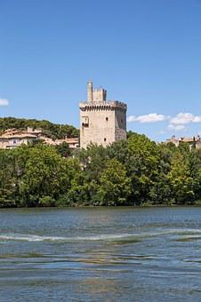 Philippe Lebel Tower, Vaucluse, France, Avignon
