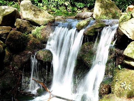 Waterfall, Dray Nur Waterfall, Water, Nature