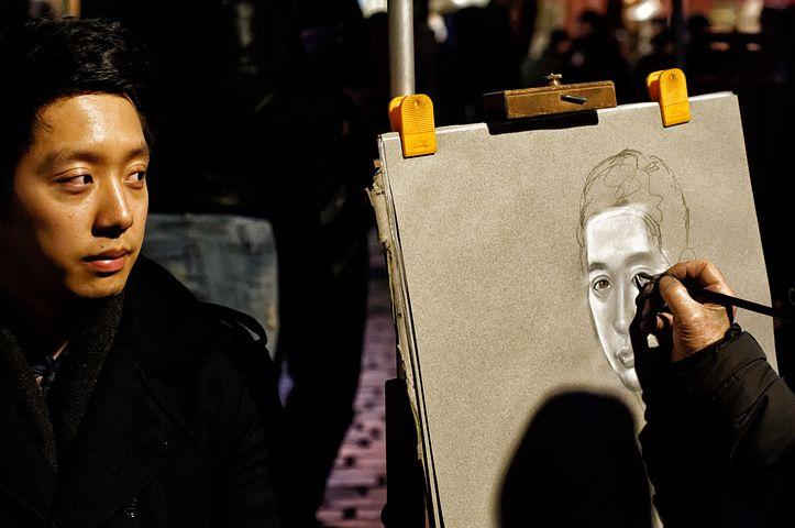 Portrait, Painter, Portraitist, Place Du Tertre