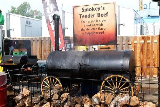 Smoking, Bbq, Tender Beef, Food, Meat, Roast Beef