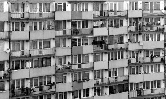 Blokowisko, Osiedle, United Disc, House, Falowiec Block