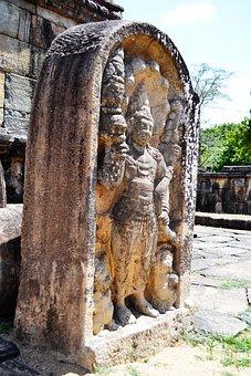 Guard Stone, Mura Gala, Polonnaruwa, Ancient Ruins