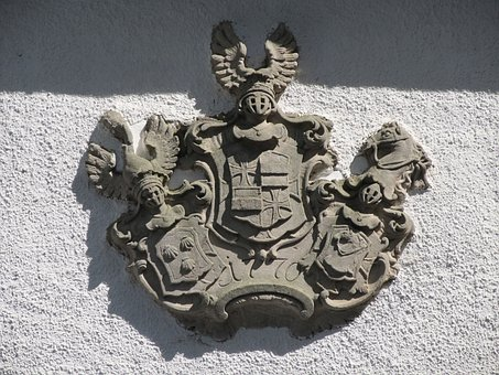 Coat Of Arms, Input, Home, Insignia, Sand Stone