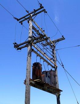 Transfomer, Substation, Stepdown, Electricity, Power
