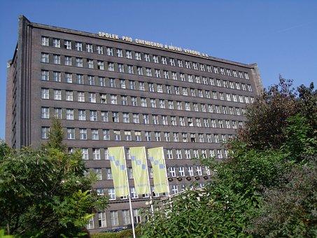 Spolchemie, ústí Nad Labem, Czechia, Industry, Building
