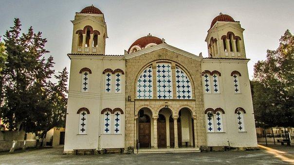 Cyprus, Sotira, Church, Metamorfosis New