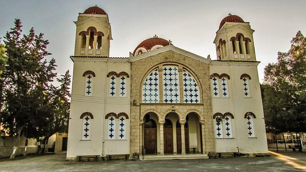 Cyprus, Sotira, Church, Metamorfosis New