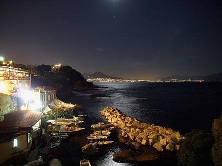 Posillipo, Naples, Night