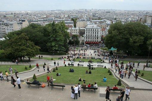 Corner, Paris, Sacré-coeur, Monmartre