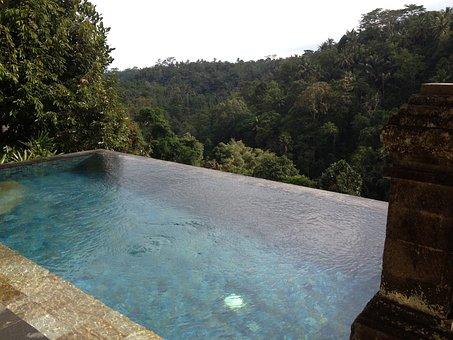 Bali, Pool, Hotel, Wulandari, Villa, Asia, Jungle, Ubud