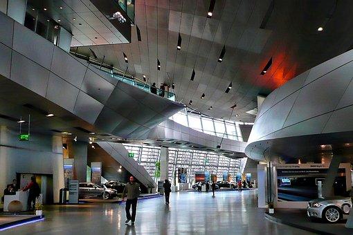 Bmw Museum, Interior, Hyper Modern, Daring Architecture