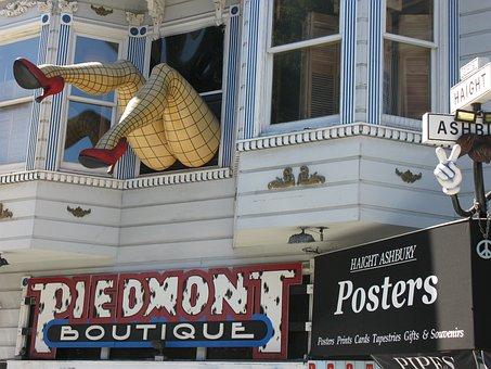 San Fransisco, California, Usa, Home, Doll, Woman, Feet