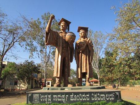 Karnataka University, Dhawad, India, Sculpture