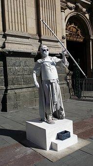 Model, Guardsmen, Dress Up, Statue, Man, Cheats