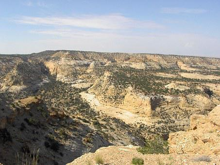San Rafael Swell, Emery County, Utah, Landscape, Dry