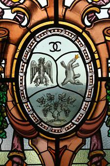 Stained Glass, Nice, Bellet Castle, South, Wine