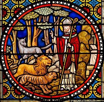 Stained Glass, Window Glass, St Austremonius, 1897