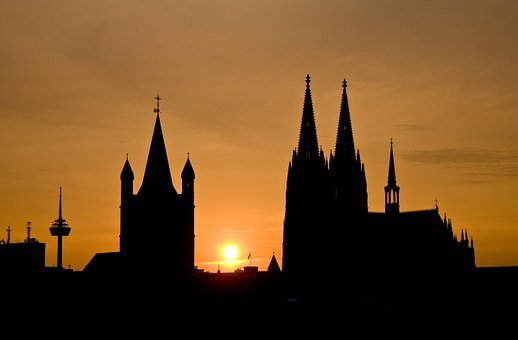 Cologne, Cologne Cathedral, Dom, Church, Steeple, City