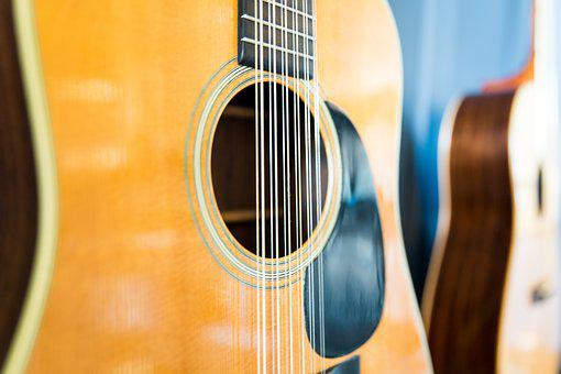 Guitar, Strings, Music, Instrument, Play, Musical