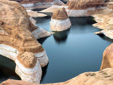 Glen Canyon, Utah, Landscape, Scenic, Mountains