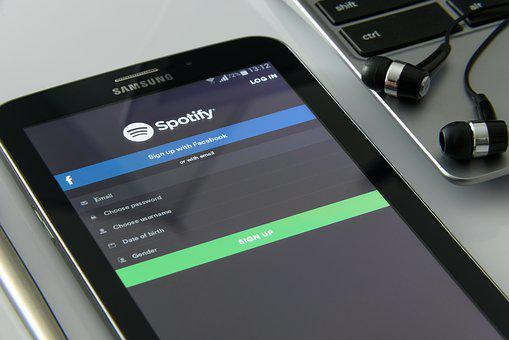 Music On Your Smartphone, Spotify, Music Service