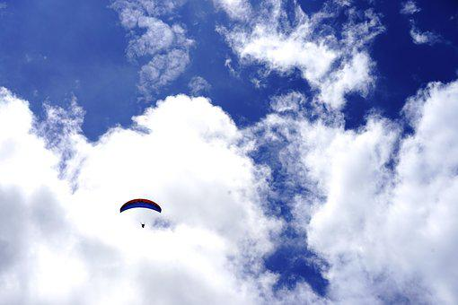 Paragliding, Sky, Extreme Game, Sport, Fly, Paraglider