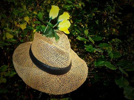 Straw Hat, Hat, Sun Hat, Sun Protection, Headwear