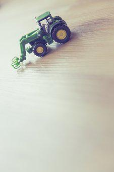 Tractor, Play, Children's Room, Fig, Toys, Leisure