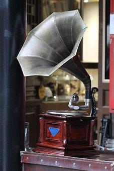 Turntable, Old, Music, Nostalgia, Record