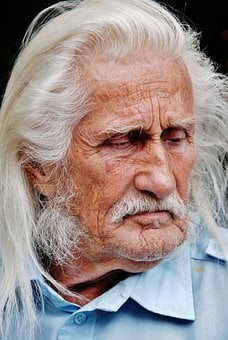 Man, Person, Face, Gentleman, Old, White, Faces, Indian