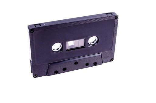 Announcer, Audio, Black, Cassette, Communication