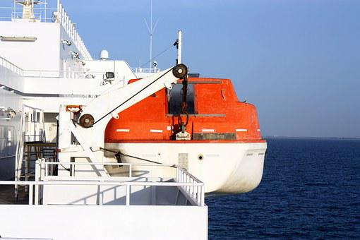 Lake, Sea, Lifeboat, Ship, Rescue, Insurance, Boot