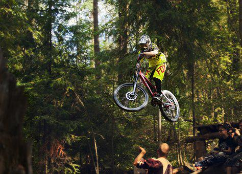 Jump, Sports, Competition, Trick, Check-in, Bike
