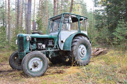 Tractor, History, Zetor, Concentration, Vyklizování