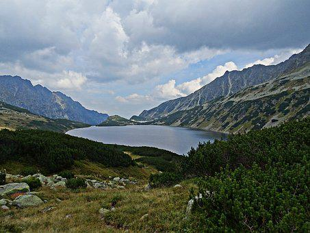 Landscape, Mountains, Lake, Pond, Nature, Tatry