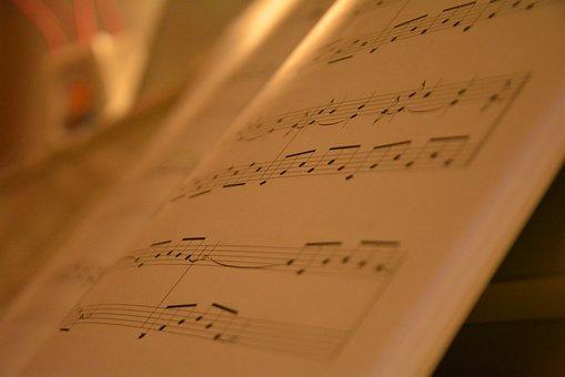 Music, Piece, Piano, Pretty, S, Woman, Concert