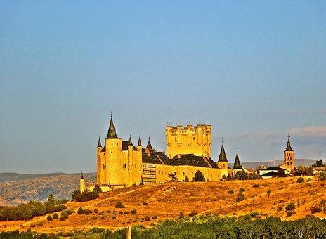 Segovia, Spain, Monument, Alcazar, Castillo Segovia