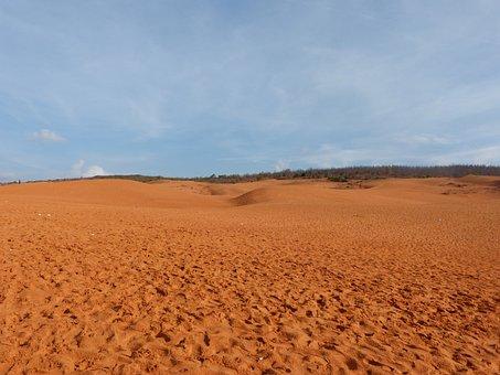 Desert, Viet Nam, Sand