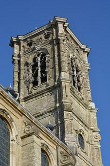 Church, Spire, Building, Architecture