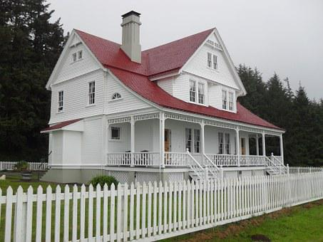 House, Heceta Head, Oregon, Architecture, Building