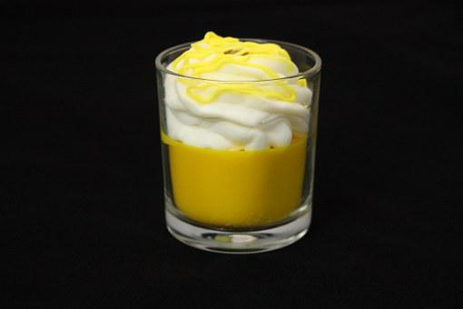 Candle, Shape, Lemon, Lemon Dessert, Dessert