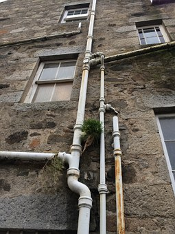 Downspout, Highlands, Scotland