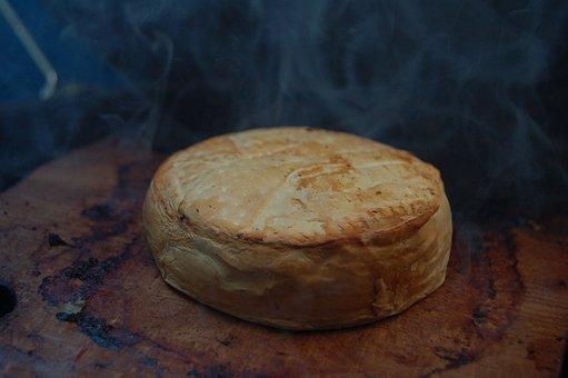 Cheese, Camembert, Grill, Smoke