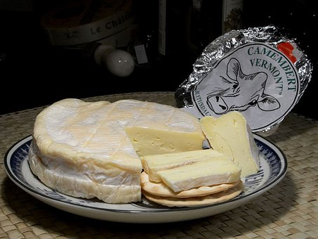 Blythedale Camembert, Cheese, Milk Product, Food